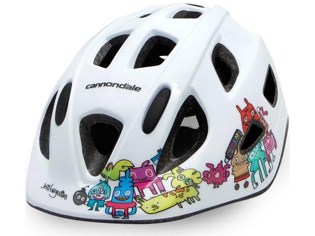 Cannondale Burgerman Colab Helmet Kinder white